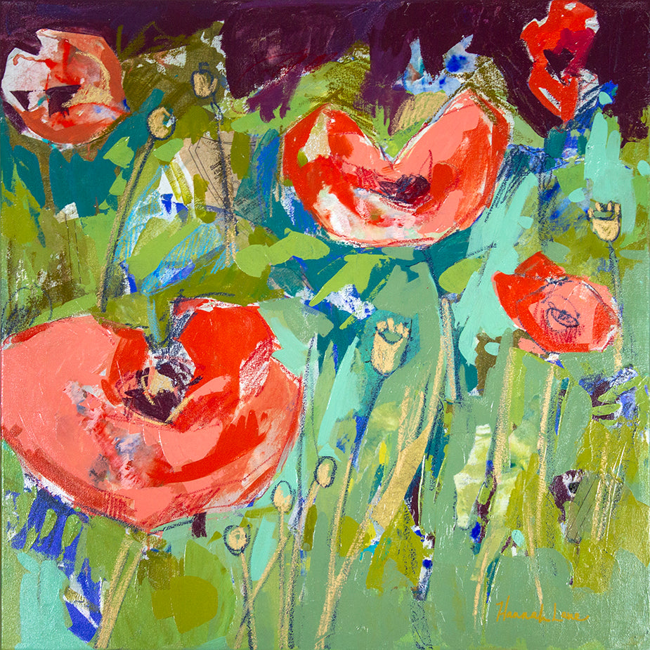 Pop of Poppies