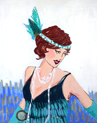 Tilly-Flapper Pearls Collection- Hannah Lane