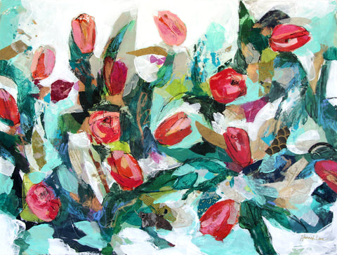 Tumbling Tulips- Hannah Lane