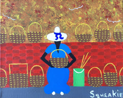 Basket Lady, Brick Wall - Squeakie