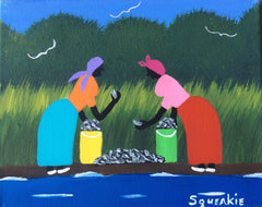 Oyster Gathering - Squeakie