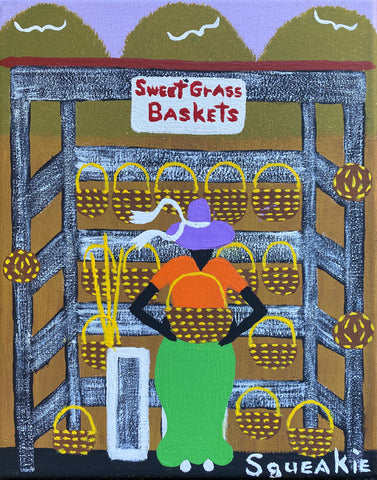 Basket Lady