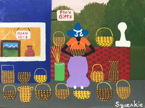 Basket Lady (Gift Shop)