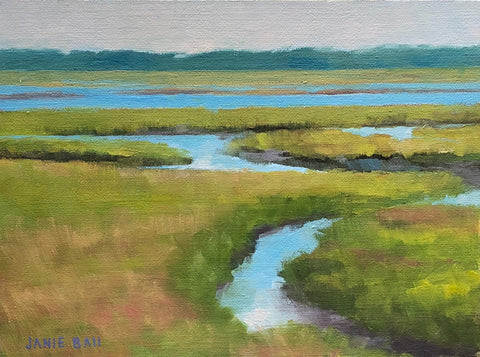 Intracoastal Waterway Morning - Janie Ball