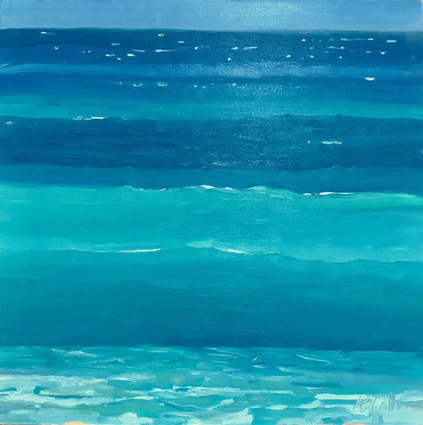 Into Blue - Susie Callahan