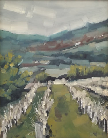 Vineyard in Winter- Jeremy Fowler