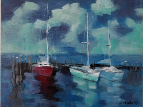 Manteo Sailboats- Jeremy Fowler