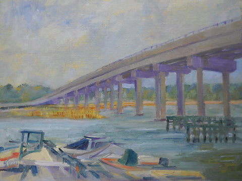 Johns Island Bridge- Susan Trott