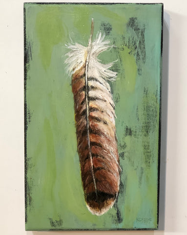 Red Tail Hawk Feather