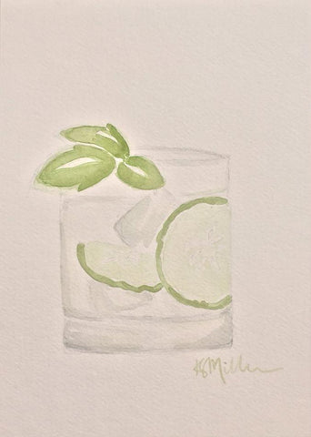 Cucumber Cocktail - Katherine Stratton Miller