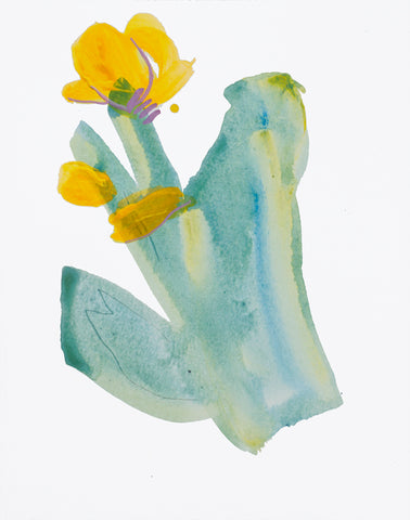 Painting 1346 Daffodil