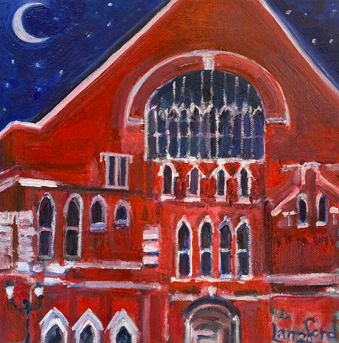 Stars above the Ryman
