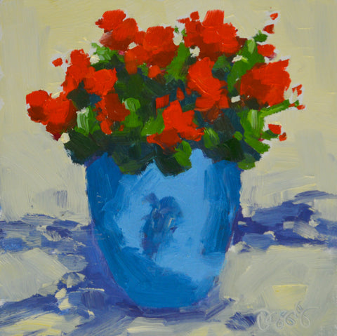 Geraniums - Lauren Ossolinski