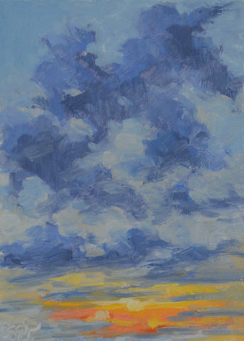 Sunrise Clouds- Lauren Ossolinski