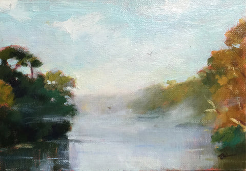 Lifting Fog on the Hooch - Lisa Gleim