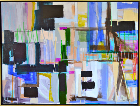 Mixed Media on Canvas 1 - Lisa Zager