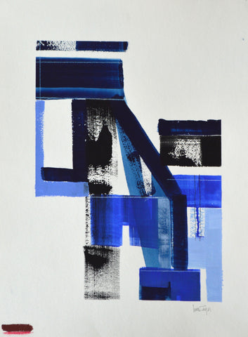 Blue Study - Lisa Zager