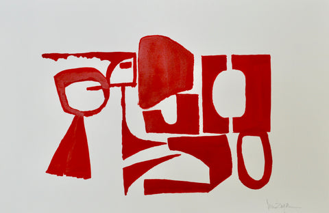 Red Study No. 1- Lisa Zager