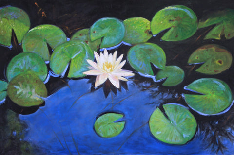 Lotus Reflection - Lisa Gleim