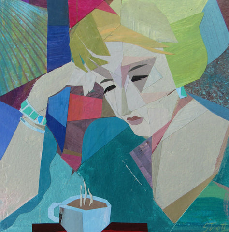 Lydia With Coffee- Susan Trott