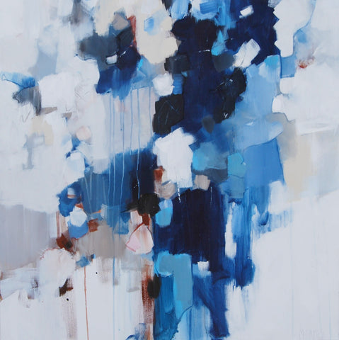 Blue and Brown- Michele James
