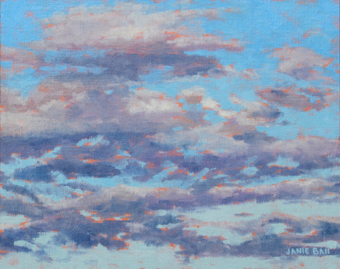 Mother's Day Clouds- Janie Ball