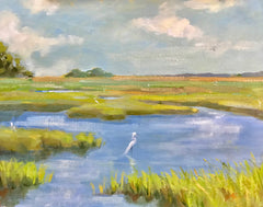 Marsh Reflection - Lisa Gleim