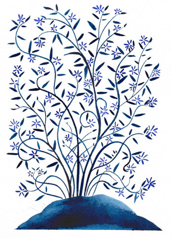 Blue Star Tree 1