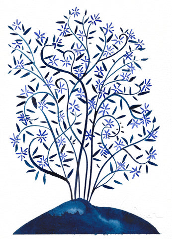 Blue Star Tree 2