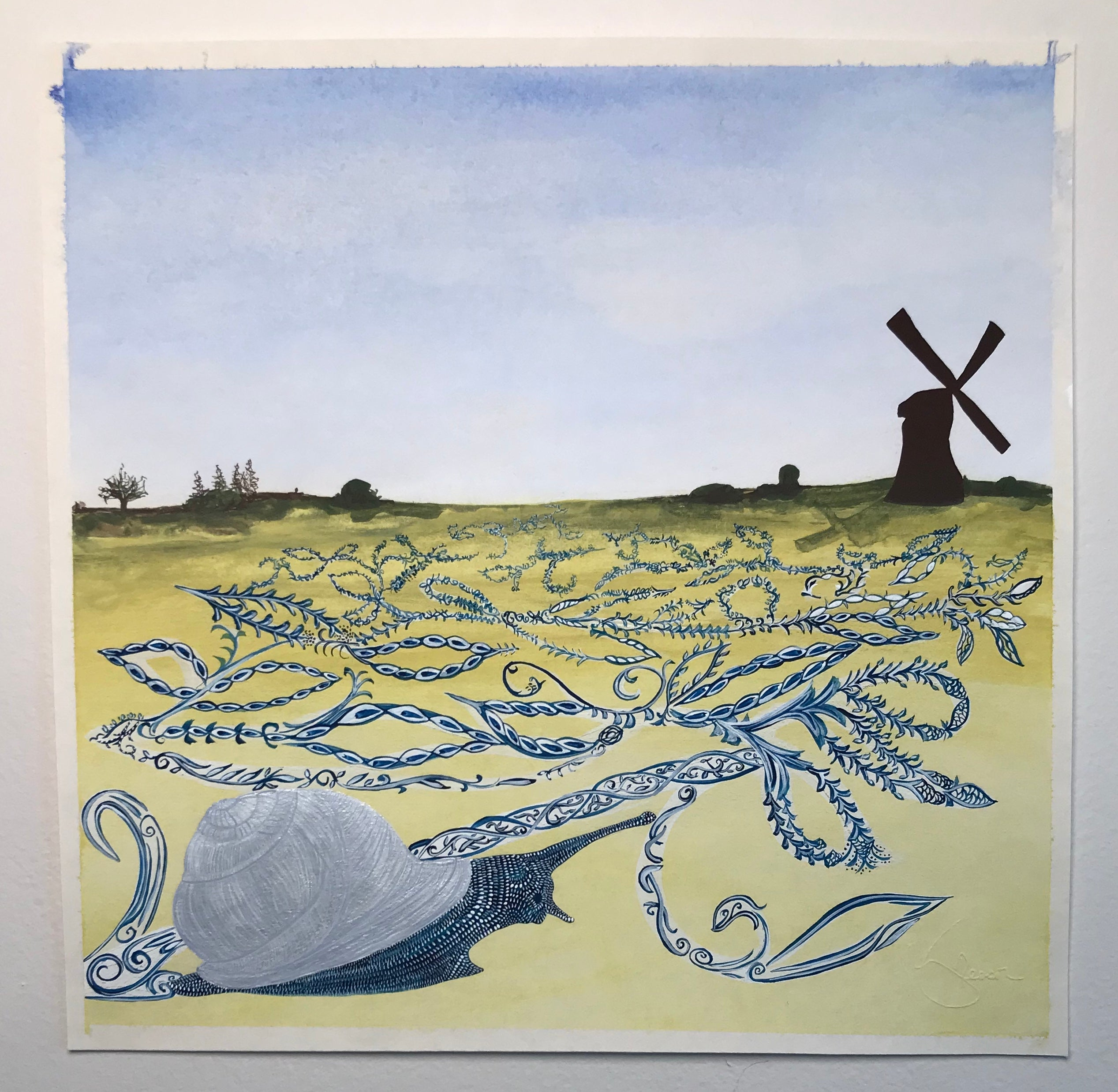 Dutch Snail with Delft Trail