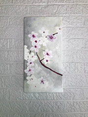 Cherry Blossom Triptych - Panel A