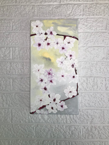Cherry Blossom Triptych - Panel C