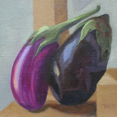 Mini Eggplants - Susan Trott