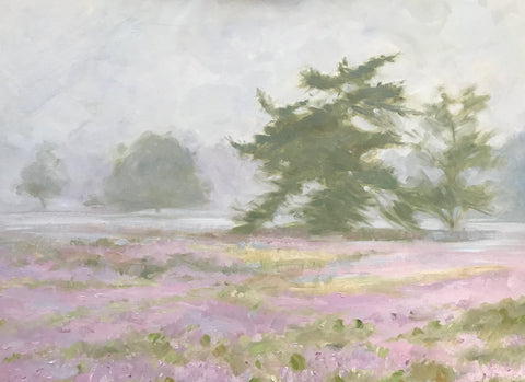 Mist and Heather - Lisa Gleim
