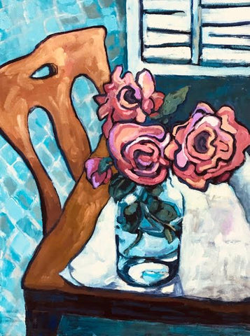 Mom's Roses - Lynne Hamontree