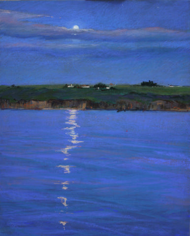 Moonlight and Fishing Buoys - Lisa Gleim