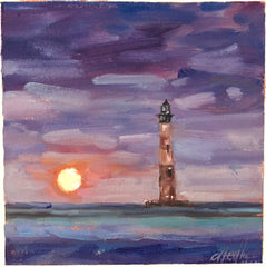 Moonrise Over Folly- Tammy Medlin