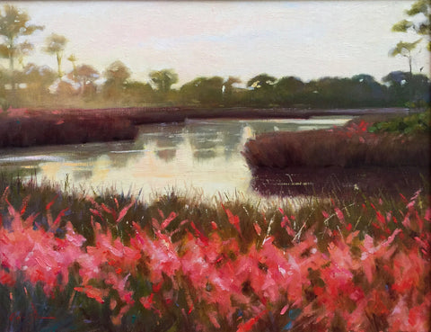 Muhly Grass at Sunset - Lisa Gleim