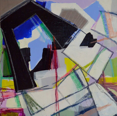 Abstract Cubes- Lisa Zager