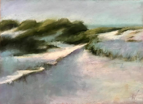 On the Dunes - Beth Williams
