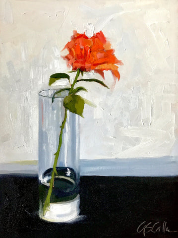 Orange Rose - Susie Callahan