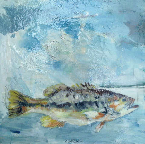 Trout Fishing - Katherine McClure