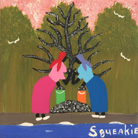 Gathering Oysters - Squeakie