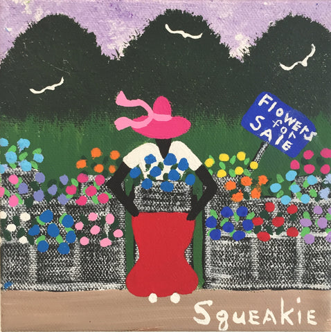 Flower Lady - Squeakie