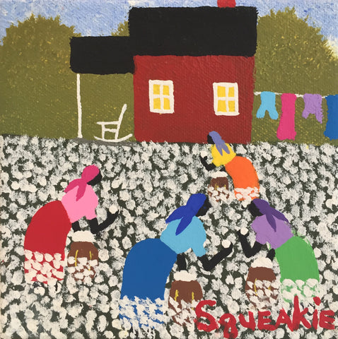 Cotton Picking - Squeakie