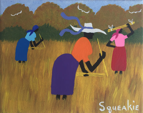 Gathering Sweetgrass - Squeakie