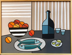 Still Life with Two Fish