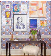 Artists: Amme Darby Parker, Beth Williams, Way Way Allen; Interior Design: The English Room