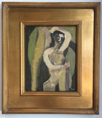 Figure With Palm Leaves - Anne Darby Parker