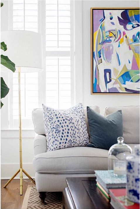 Artist: Anne Darby Parker; Interior Design: Molly Basile Interiors